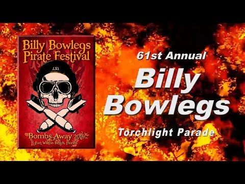 Official 2016 Billy Bowlegs Pirate Torchlight Parade