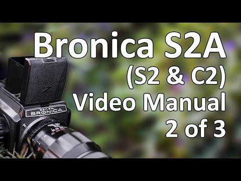 Bronica S2A Video Manual 2 Of 3: Operation