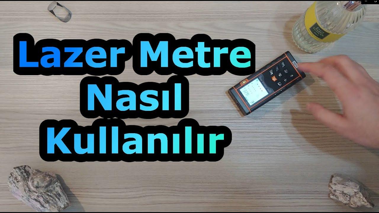 Lazer Metre Nasıl Kullanılır? Attlas Lazer Metre Kutu Açılımı, A101
