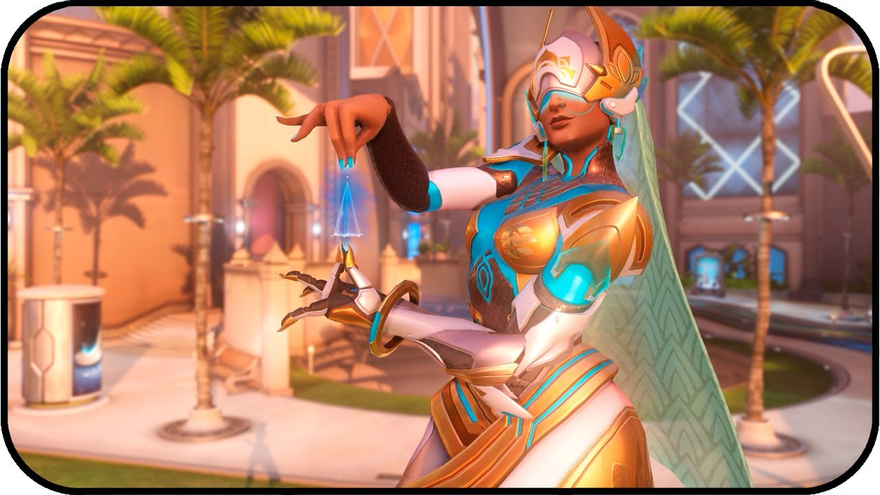 Overwatch Symmetra Oasis Animated Desktop Wallpaper 4k 60fps