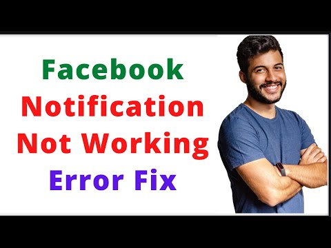 Kya Facebook Notification Nahi Aa Raha Hai || Facebook Notification Not Working Error Fix