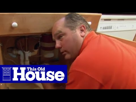 how to clear a clogged sink drain this old house youtube. Black Bedroom Furniture Sets. Home Design Ideas