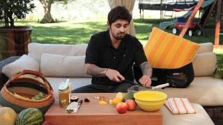 Fancy Fruit Salad Recipe from Chef Ludo &amp Bugaboo