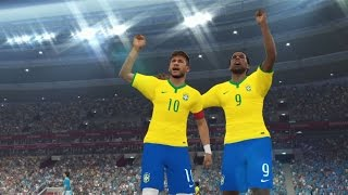 PES 15 Copa América 2015 ARGENTINA VS BRASIL MASTER LEAGUE - Playstation 4