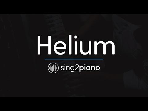 Helium (Piano Karaoke Instrumental) Sia