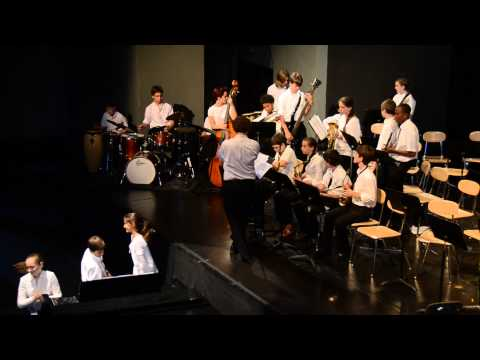 GFS Middle School Jazz Ensemble: All About The Blues