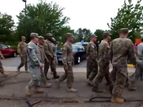 Schilling elementary school welcomes back Soldiers from deployment