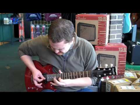 The Music Room Palatine Ibanez GAX70 and Fender 25R - YouTube