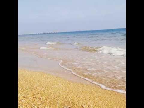 Море (пляж Витязево). Май 2017