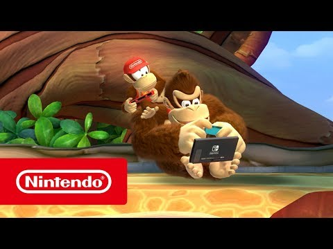 Donkey Kong Country: Tropical Freeze – Tráiler general (Nintendo Switch)