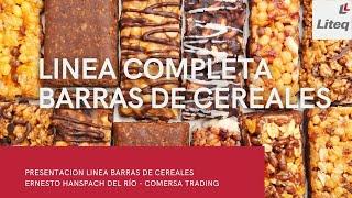 LÍNEA COMPLETA BARRAS DE CEREALES
