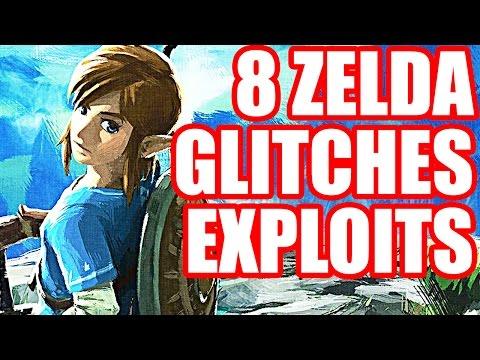 8 NEW GLITCHES and EXPLOITS In Zelda Breath of the Wild [Nintendo Switch/Nintendo Wii U]