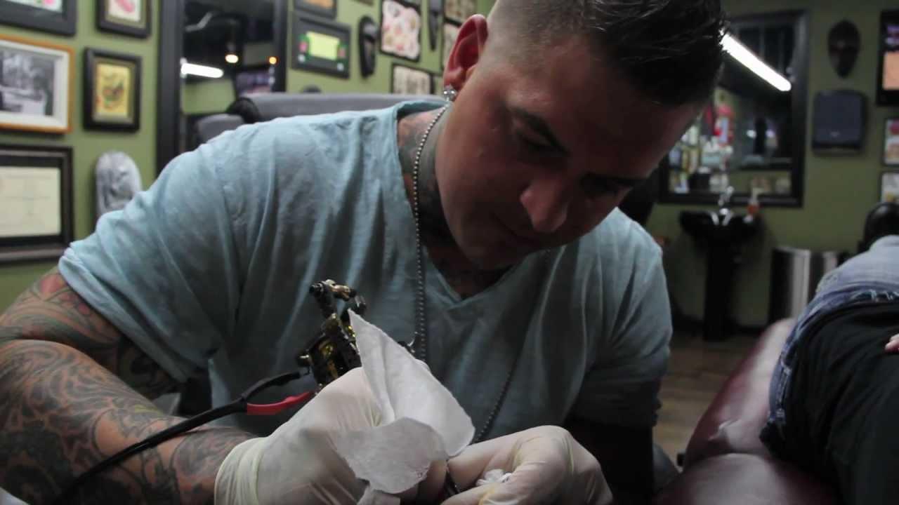 Ink master audition tattoo artist josh cruse wichita for Tattoo removal in kansas