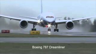The Noise difference between a Boeing 707 and a Boeing 787 (Additional Video)