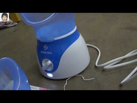 Dr. Trust (USA) Face Steam Inhaler Electronic Facial Steamer For Cough & Cold Relief Portabl