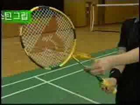 cách cầm vợt
