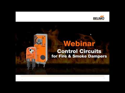 Control Circuits for Fire Smoke Dampers on