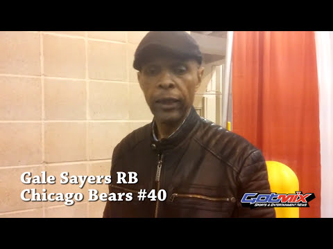 (HOF) RB Gale Sayers interview w/Gotmix News