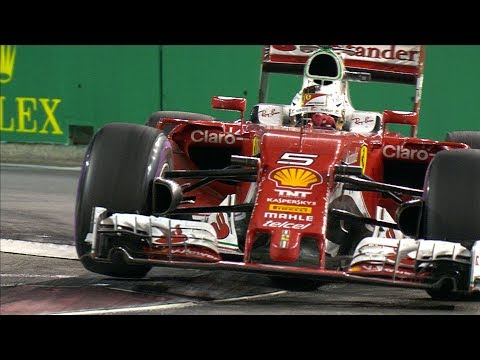 Sebastian Vettel - Master Under The Lights | Singapore Grand Prix
