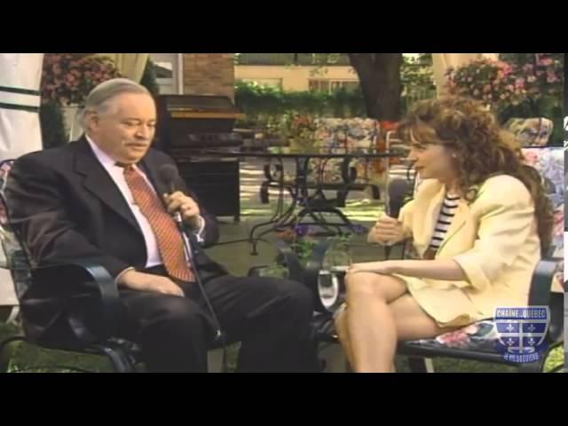 Jacques Parizeau en entrevue avec Julie Snyder - 22 juin 1995