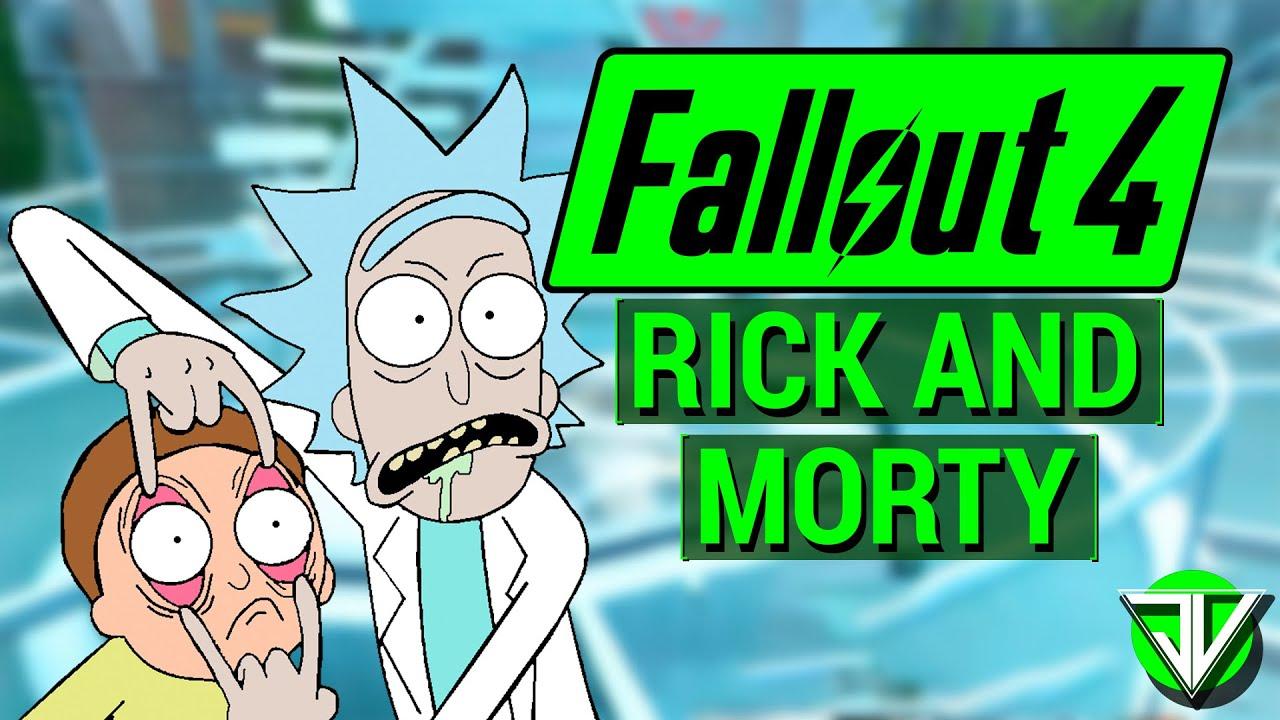 Fallout  Rick Sanchez Build