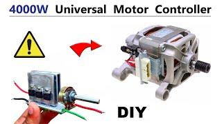 4000 Watt Universal Motor Speed Control - Make 120v RPM Controller DIY