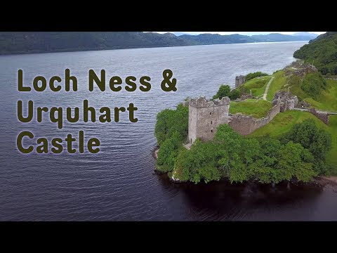 Loch Ness & Urquhart Castle: Scotland from the air | 4K UHD
