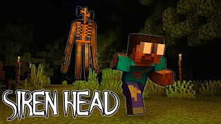Monster School : SIREN HEAD IS ATTACKING MONSTER SCHOOL - Minecraft Animation Horror Movie