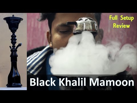 Black Khalil Mamoon | Full Specification | Review | The Most Traditional Shisha Ever