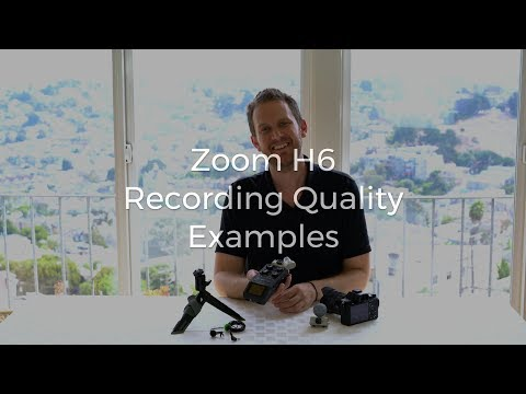 Zoom H6 Recording Examples and Comparison, XYH-6, MSH-6