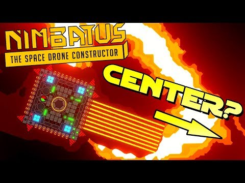DIGGING TO THE CENTER! - Nimbatus: The Space Drone Constructor Gameplay Ep 2