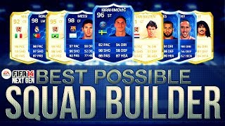One of bateson87's most viewed videos: BEST POSSIBLE TEAM ON FIFA w/ Legends and TOTY Cards | FIFA Ultimate Team Squad Builder