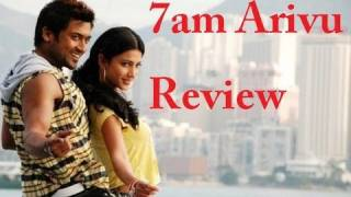 7am arivu ezham arivu tamil movie review