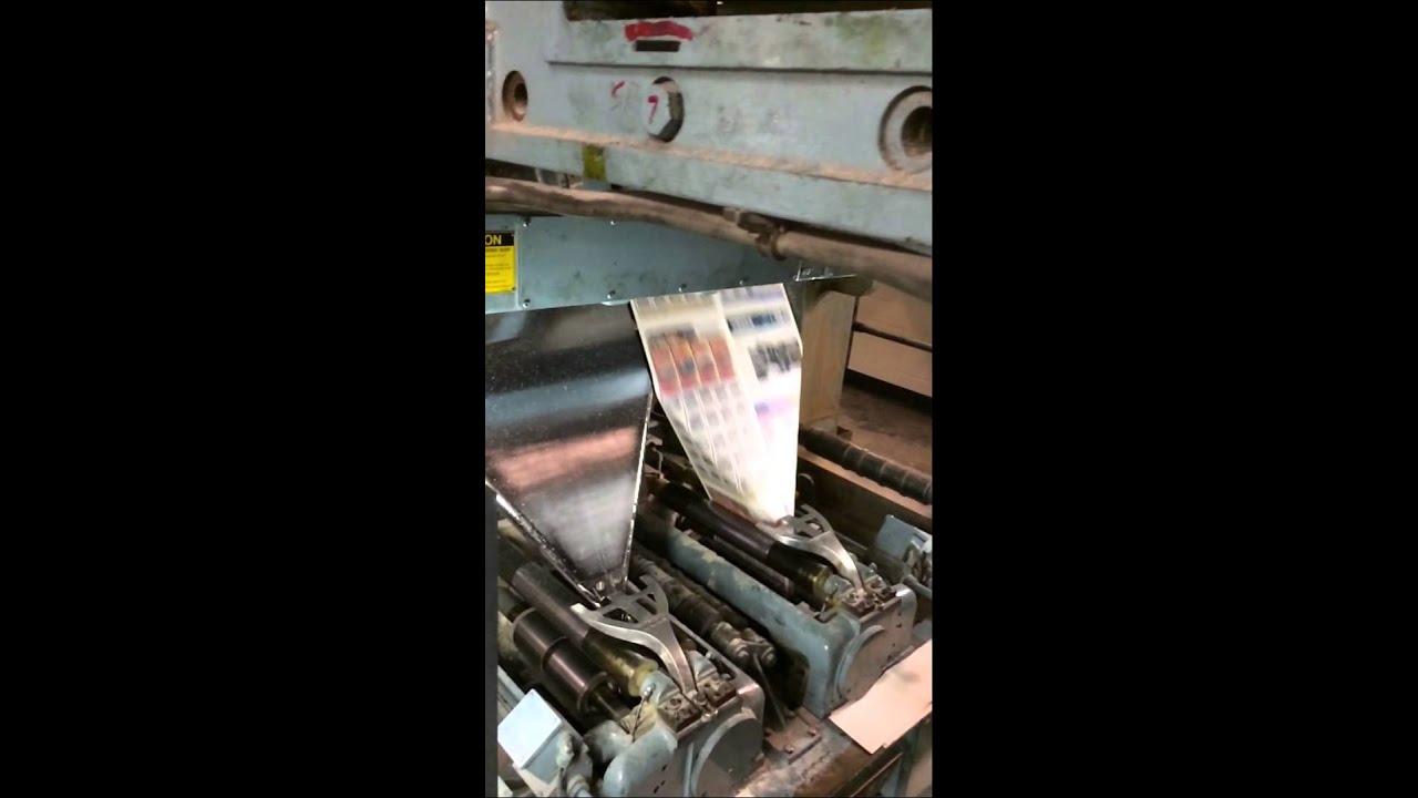 Goss Metroliner Press