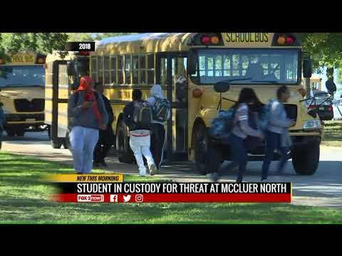 McCluer North High School student in police custody after threat