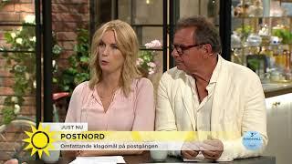 Steffo Till PostNords VD Kul Att Du Hittade Hit Nyhetsmorgon TV4