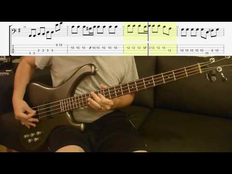 Do you Remember Rock n Roll Radio? Ramones Bass Lesson with Scrolling Tabs