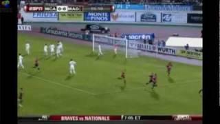 Hattrick Cristiano Ronaldo Mallorca vs Real Madrid 2010