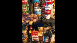 Moonlight Clean With Me Collab ***Quarterly Pantry Clean Up***