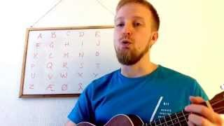 Урок 3: Песня норвежского алфавита