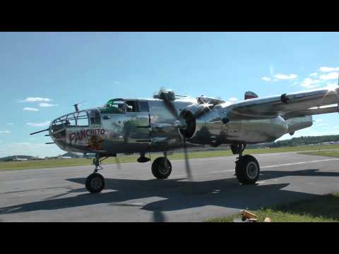 [HD] WWII Weekend 2014: Bombers Part 2