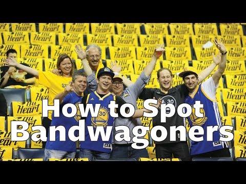 Warriors Bandwagoners vs. Diehards: How to Spot the Real Fans