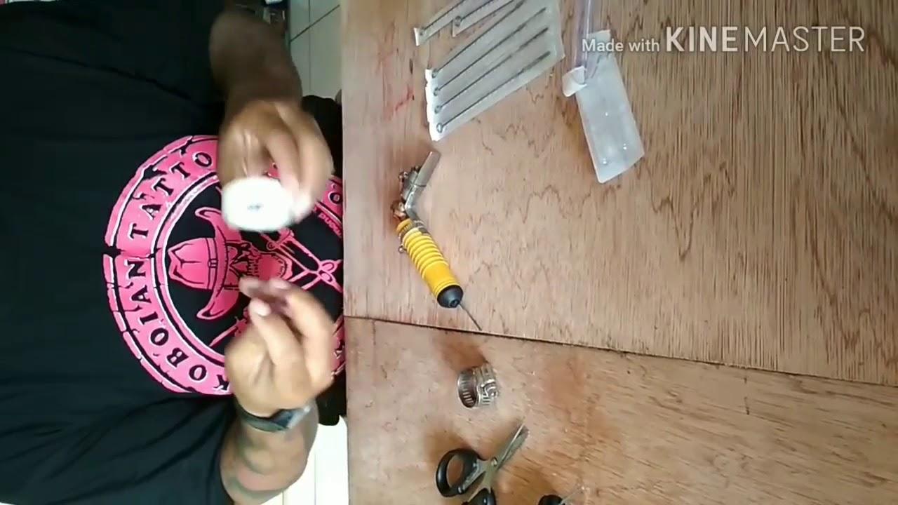 Cara Membuat Mesin Tato Sendiri By Raymond Tattoist