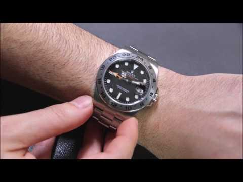 Rolex Explorer II 42mm 216570 Watch Review | aBlogtoWatch