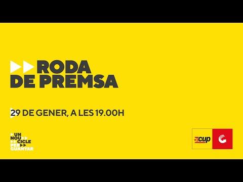 Roda de Premsa - Carles Riera