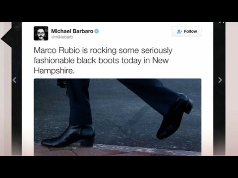 Marco Rubio mocked for wearing 'high-heeled booties...