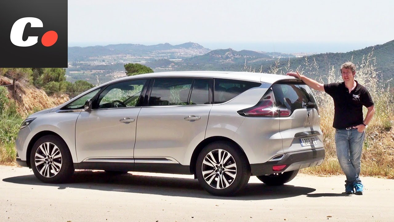 renault espace prueba an lisis test review en espa ol youtube. Black Bedroom Furniture Sets. Home Design Ideas