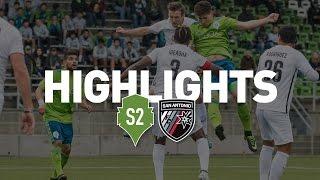 Highlights: Seattle Sounders FC 2 vs San Antonio FC | April 25th, 2017 thumbnail