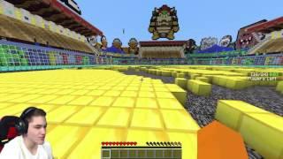 """Minecraft Party #43 - """"NIE ZATRZYMUJ SIĘ CHALLENGE?!"""" w/ Vertez, Hunter, Świątek"""