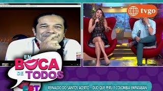 ¡Reinaldo Do Santos: Perú sí va al mundial! - En Boca de Todos 18/10/2017